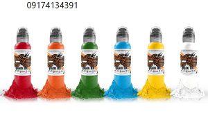 قیمت رنگ های تاتو